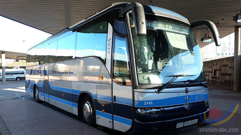 Busfahrten Bahnfahrten Spanien ALSA