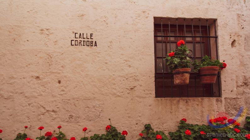 Spanien von A-Z - Anschriften in Spanien Calle