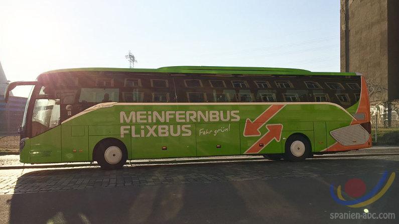 Busreisen nach Spanien