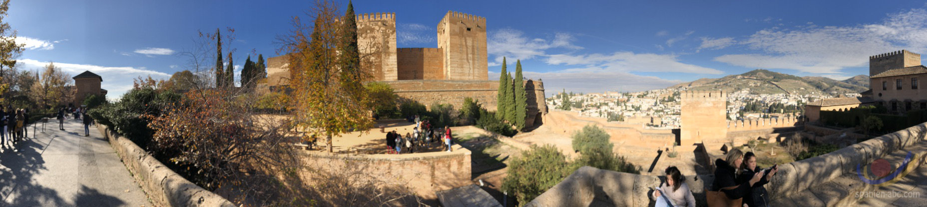 Alhambra Granada 360 Grad