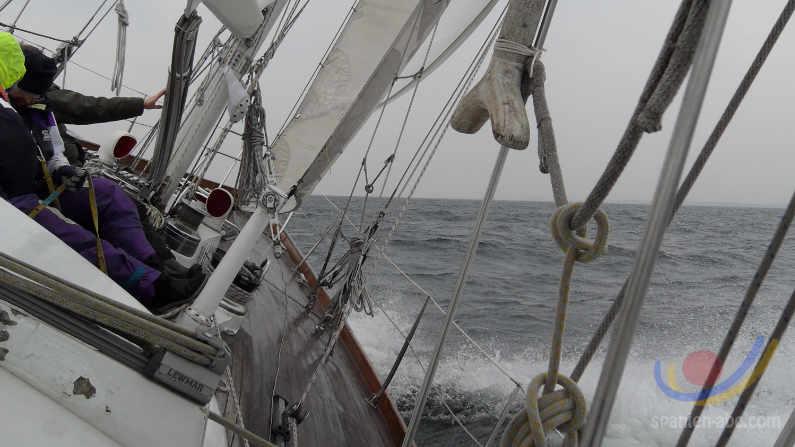 Segeltoern, Segeln an den spanischen Küsten
