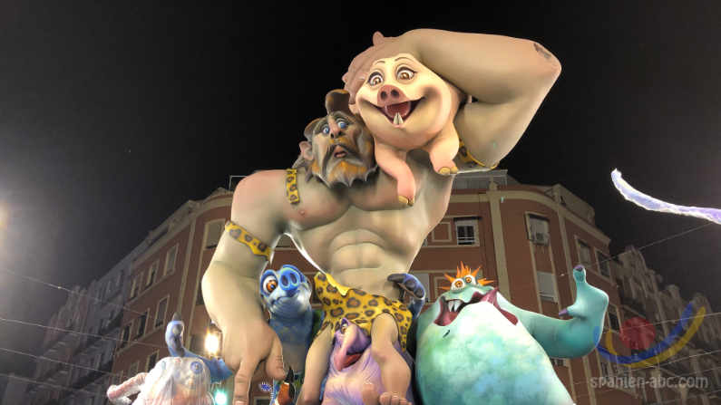Die FALLAS in Valencia