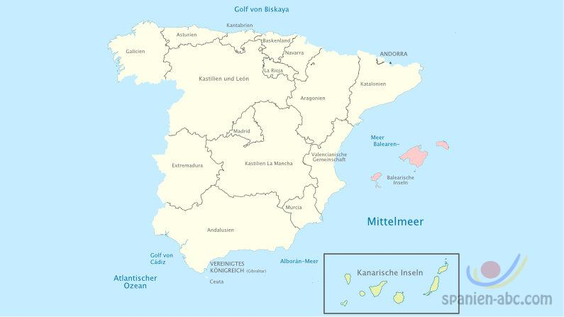 Spaniens Regionen