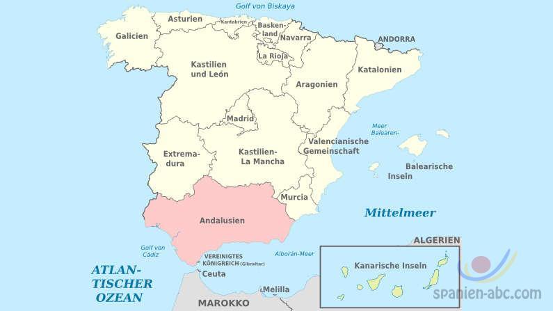 Andalusien Informationen
