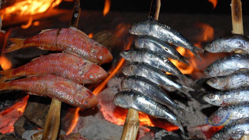 Andalusien Fisch