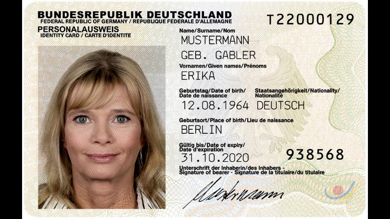 Deutscher Personalausweis ohne Wohnsitz in Deutschland