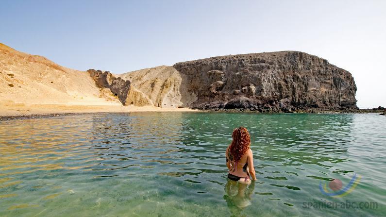 Lanzarote Playa de Papagayo
