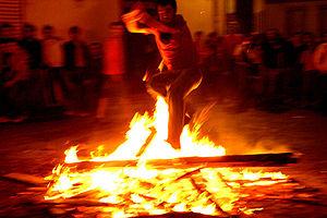Johannisnacht in Spanien, Noche de San Juan