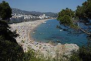 Strandverlust in Spanien. Das Mittelmeer steigt