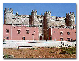 Burgen in Spanien