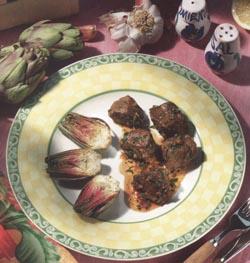 Gebratene Artischocken – Saure Lammwürfel – Rezepte aus Aragon